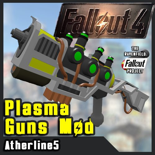 [Fallout Project] Plasma Guns pack
