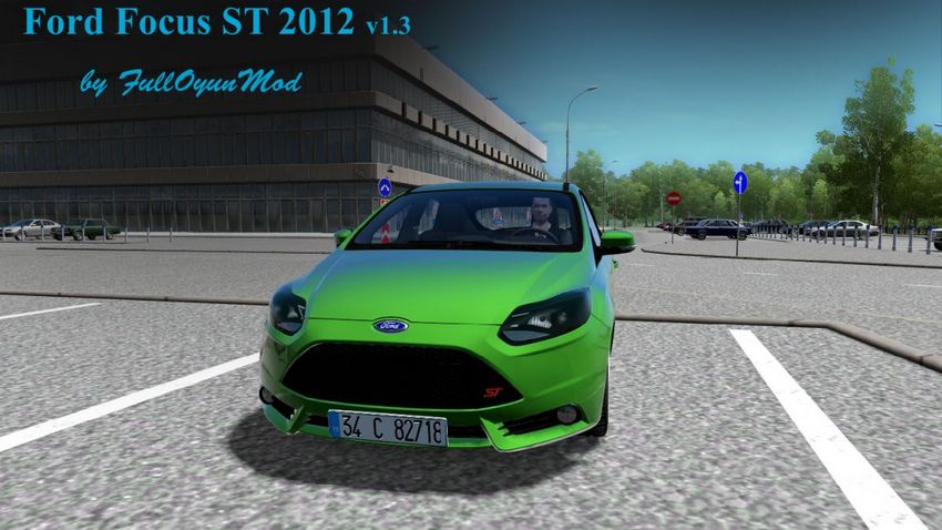Ford Focus ST 2012