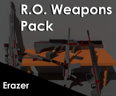 Mars Patterns Weapon Pack Pt.1