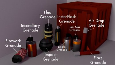 Tactical Grenades Pack