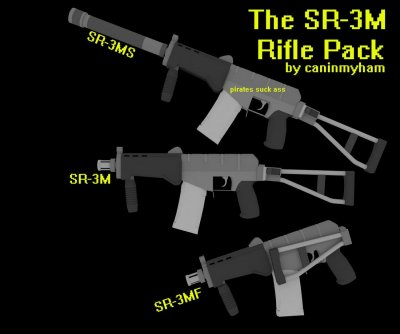 The SR-3M Rifle Pack