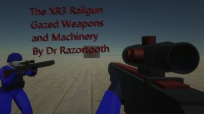 Gazed Weapons and Machinery XR3 Railgun