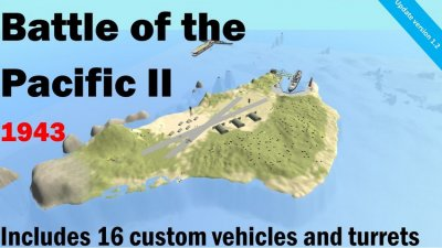 Battle of the Pacific II (Includes vehicles)