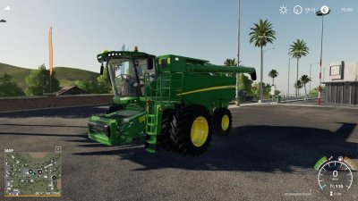 John Deere S790 And 645fd Header