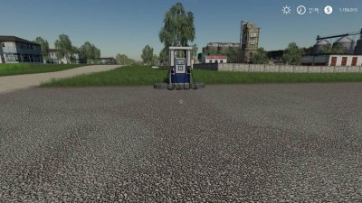 Placeable Gas Station