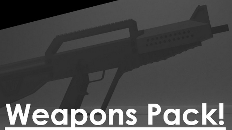Horizon Defense Forces Weapon Pack