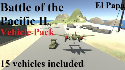 Battle of the Pacific II: Vehicle Pack