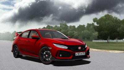 Мод Honda Civic Type R 2018