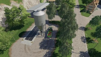 Small Farm Silo By Gamling