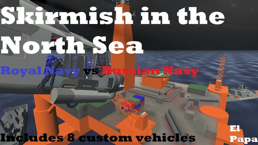 Skirmish in the North Sea