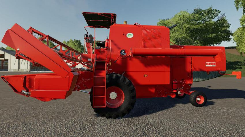 Bizon Harvester & Header