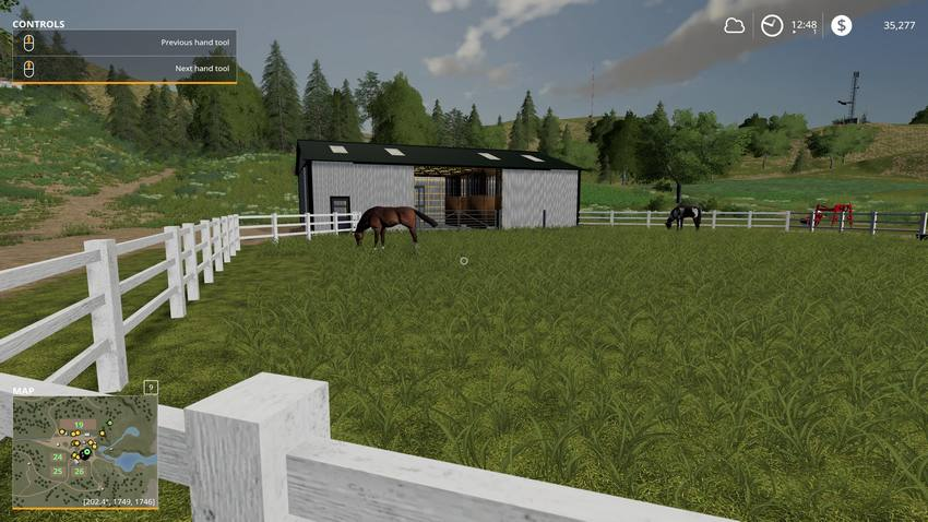 Small American Stable