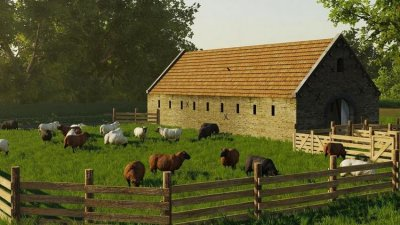 Old Building Sheep Placeable