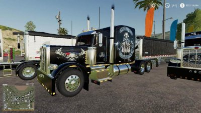 CSM Trucking Peterbilt 388 Package