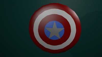 [Avengers Porject] Captain America's shield