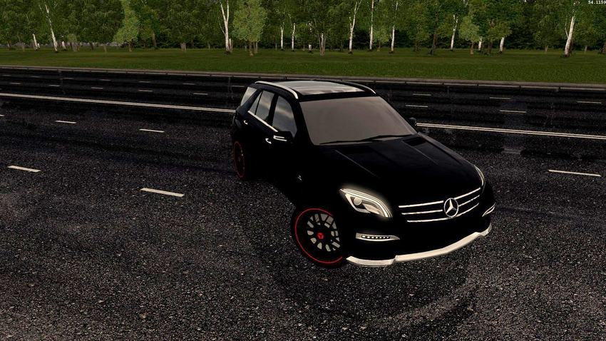 Mercedes-Benz ML63 AMG 2014