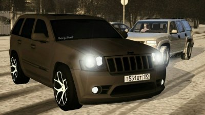 Jeep Grand Cherokee SRT8 1000 сил