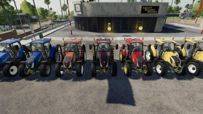 New Holland T5 By Gamling