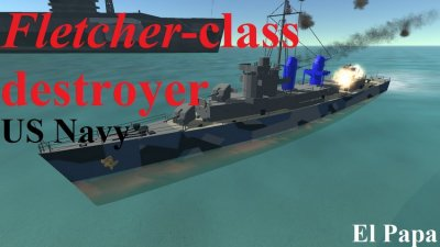 Fletcher-class destroyer