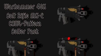 Bolt Rifle MK-2 CAWL-Pattern Bolter Pack