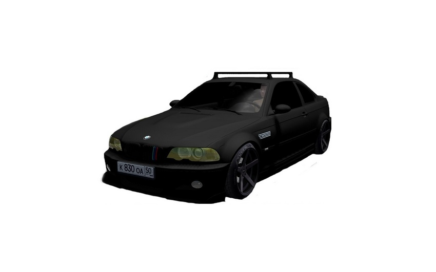 Мод «BMW M3 E46» для City Car Driving