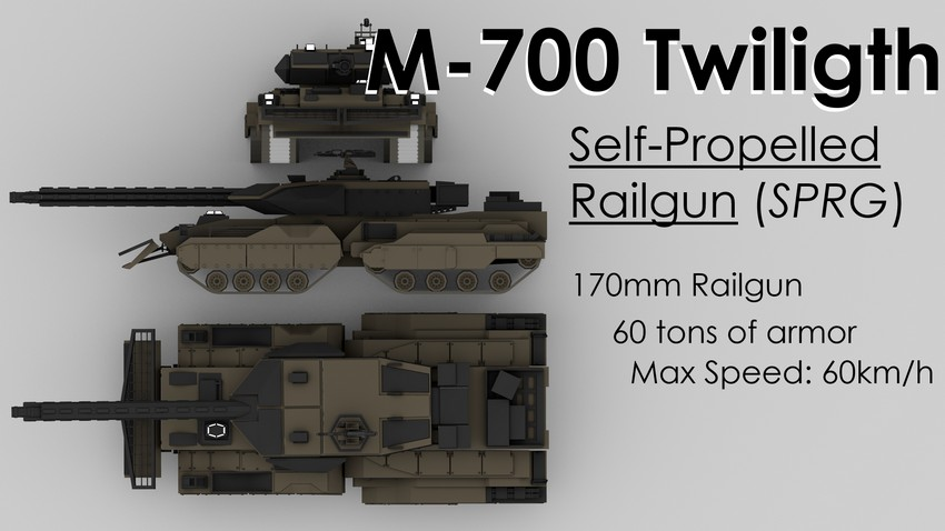M-700 Twiligth [Helios Weapons&Tech]