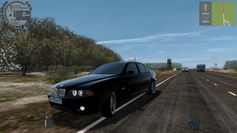 City Car Driving BMW M5 E39 1 4