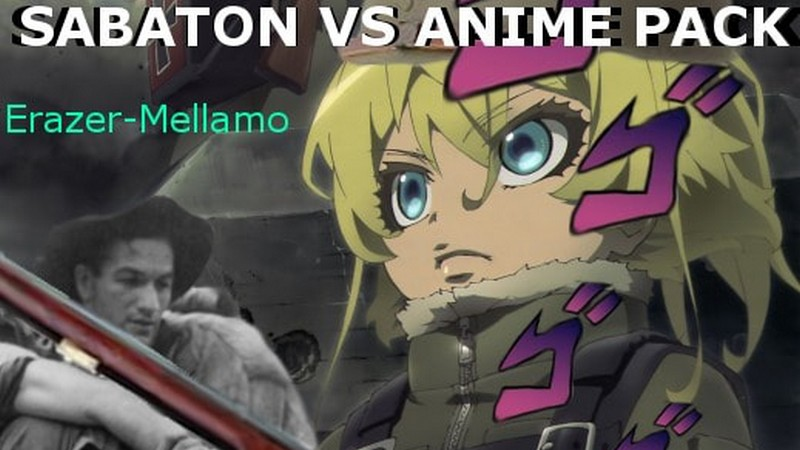 Sabaton Vs. Anime pack