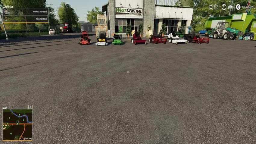 Mower Pack