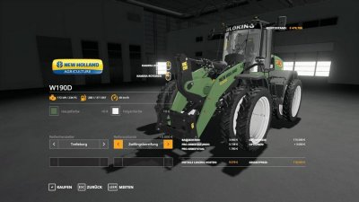 New Holland W190d Silo King