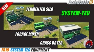 System-Tec Cow Mixer Station