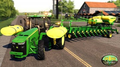 John Deere 2016-2018 8r Series Row Crop