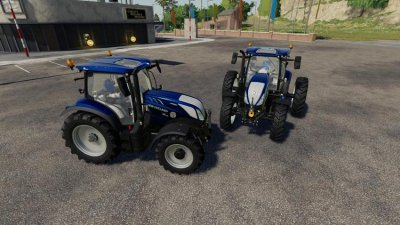 New Holland T6 Blue Power