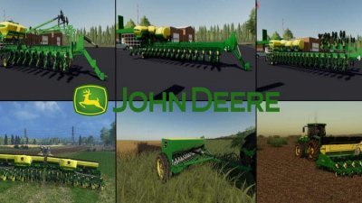 John Deere Seeders Pack