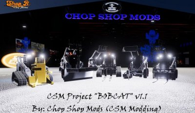 CSM Bobcat 590 Series Skid Steer Pack