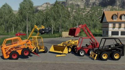 Skid Steer Loader 711 Pack