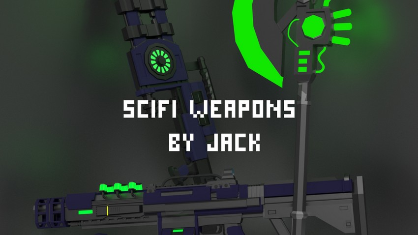 SciFi Weapons Jack (Railgun Included)