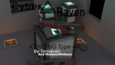 The KT H-SMG Type-40 (Project: Cyberraven)