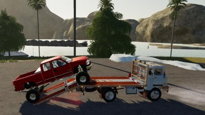 IFA W50 Towtruck