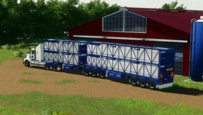 Rytrans B-Double Cattle Trailers