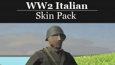 WW2 Italian Army Skin pack
