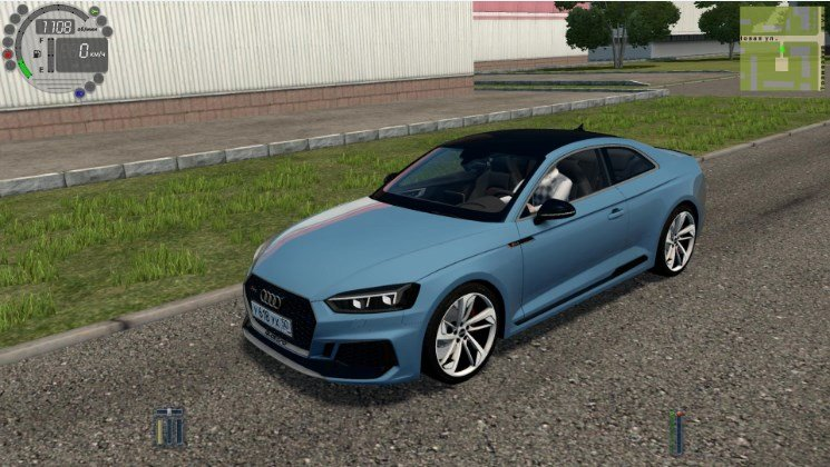 Audi RS5 Coupe для City Car Driving