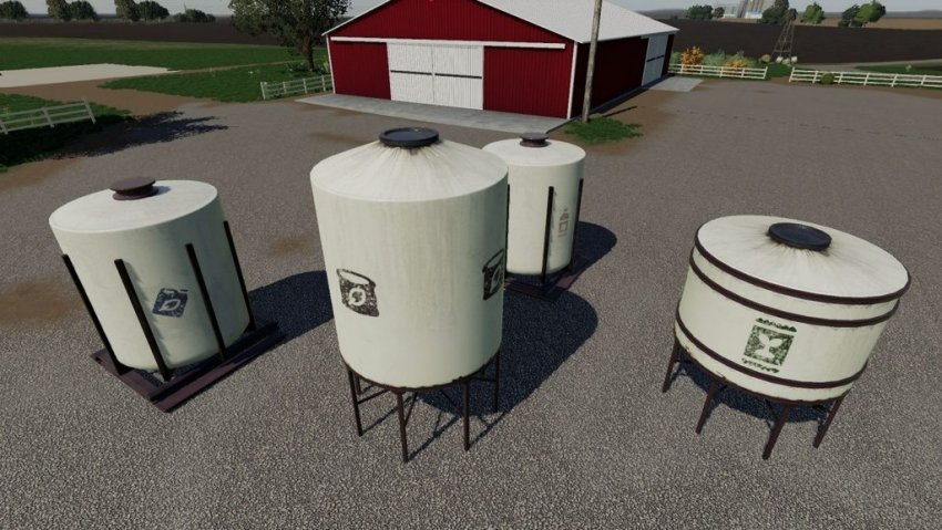 Placeable Refill Tanks