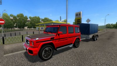 Mercedes-Benz G65 Red Tuning