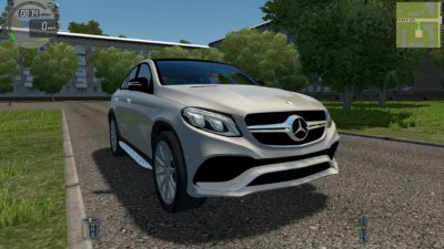 Mercedes-Benz GLE 63 AMG Coupe 2017