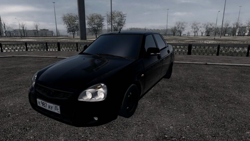 Lada 2170 Black Edition