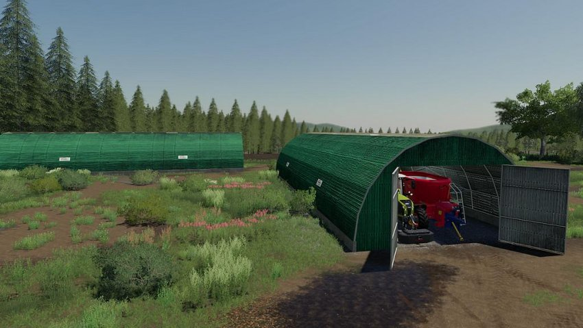 Storage Tunnel EasySheds