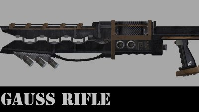 Винтовка Гаусса / Gauss Rifle