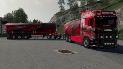 Scania bulk and trailer
