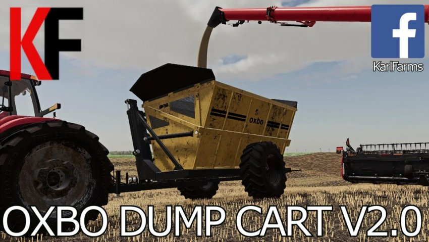 Oxbo High Tip Dump Cart